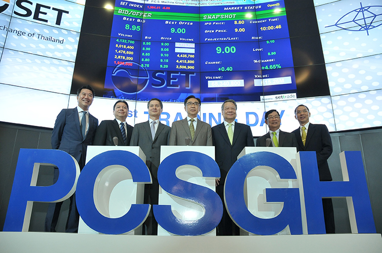 PCSGH_1st Trading Day
