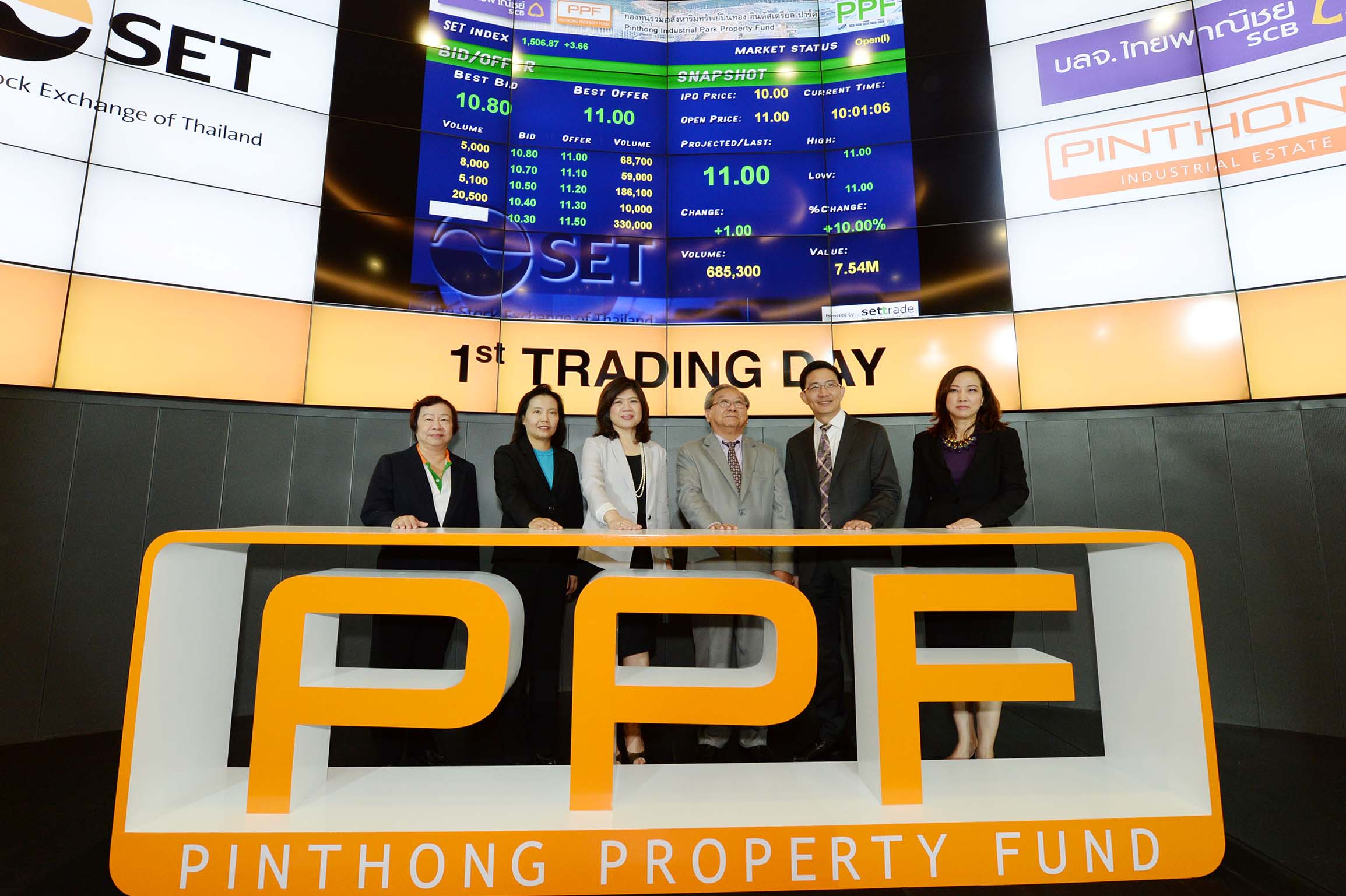 PPF_1st Trading Day